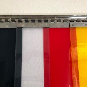 Rozsdamentes acél felfüggesztésű termofüggöny